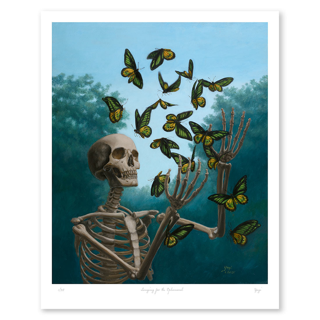 Longing for the Ephemeral Fine Art Print