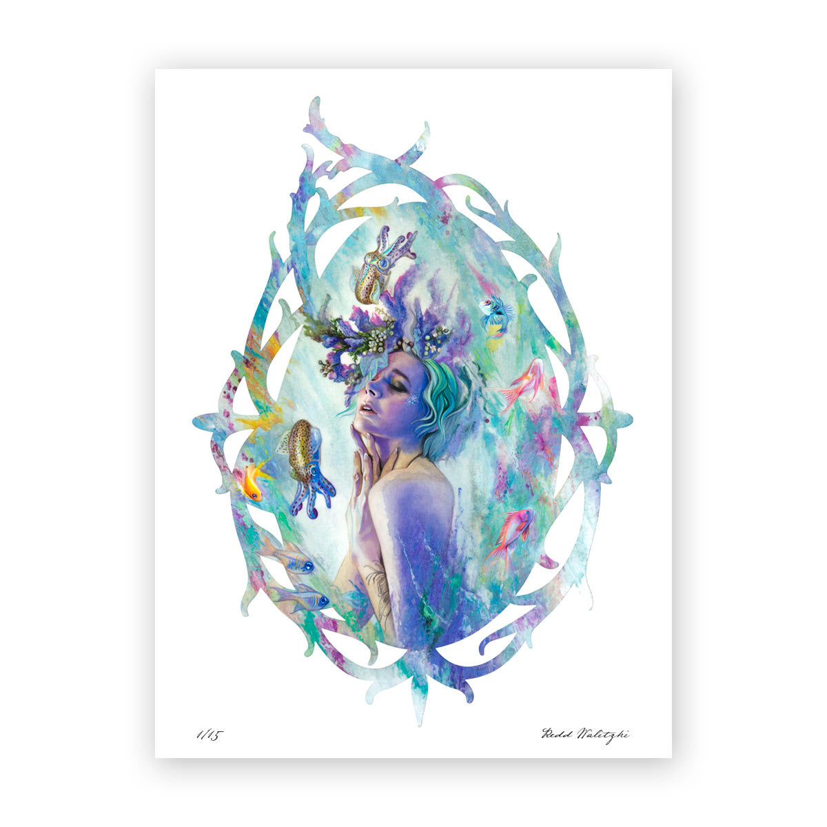 Ocean Bloom Fine Art Print