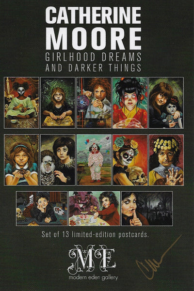 Girlhood Dreams and Darker Things Postcard Set