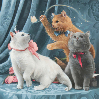 Marie, Toulouse and Berlioz (The Aristocats)