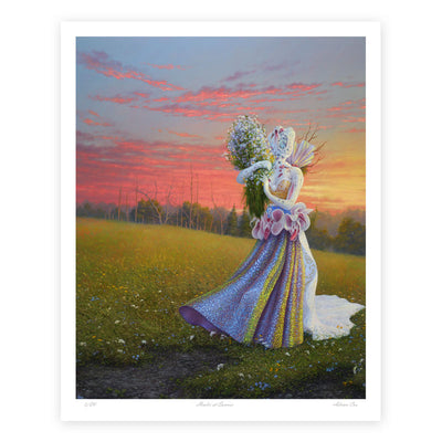 Healer at Sunrise Fine Art Print