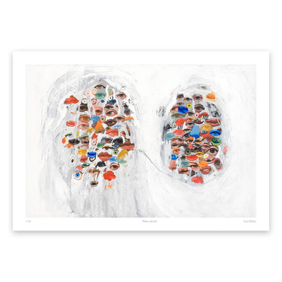 Mother with Child Fine Art Print