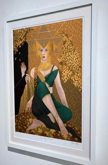 Gold Dust Woman Fine Art Print