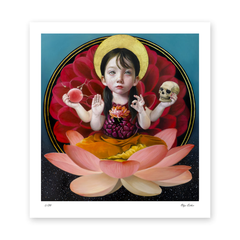 Goddess of the Ephemeral Fine Art Print