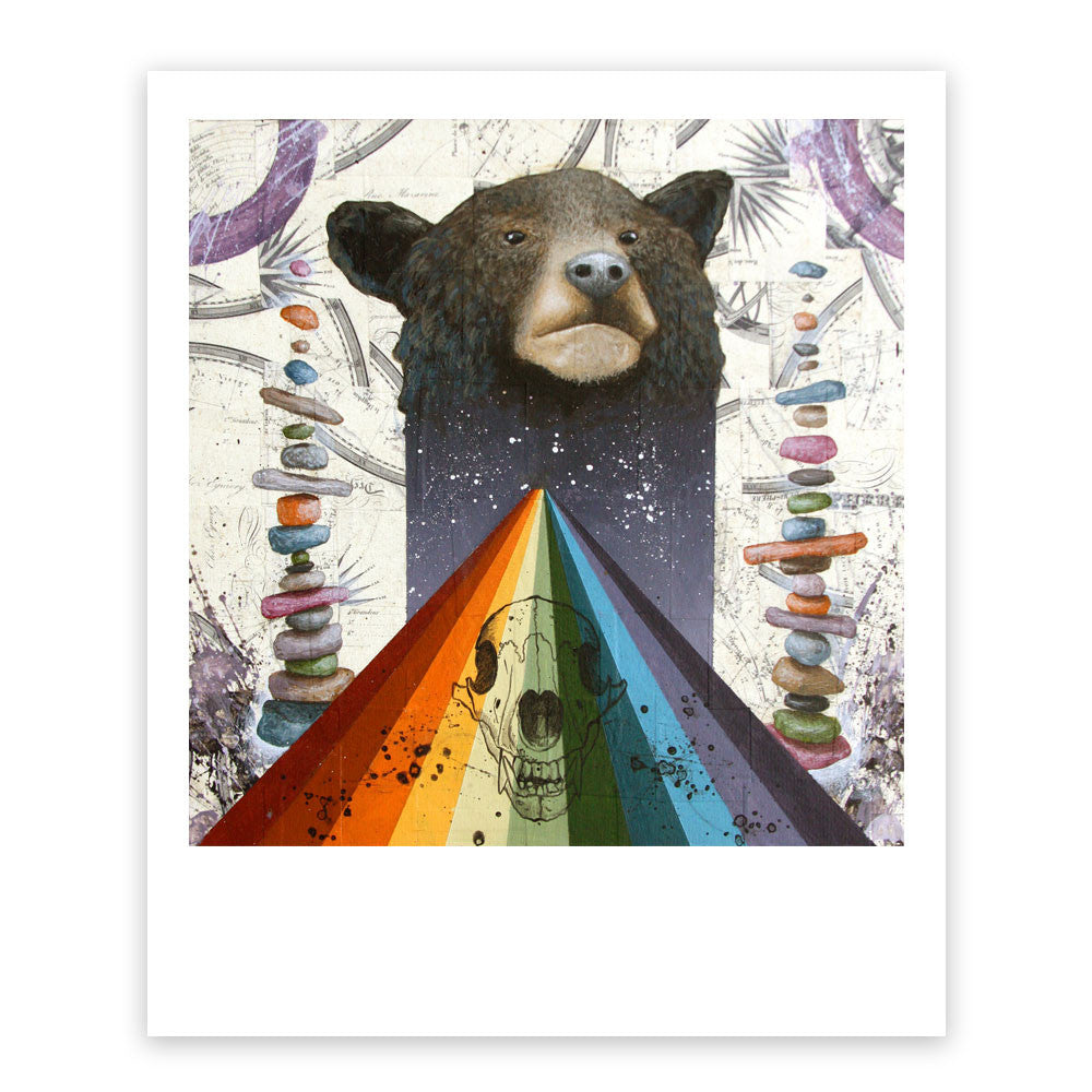 The Temple of Ursa Major Print