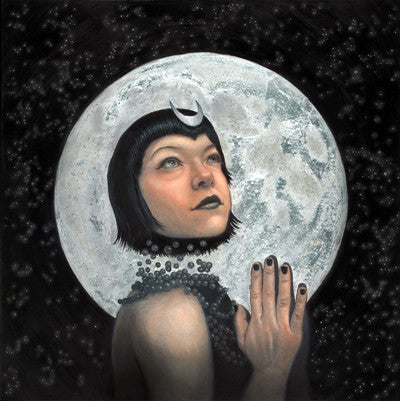 Rising of the Moon Goddess
