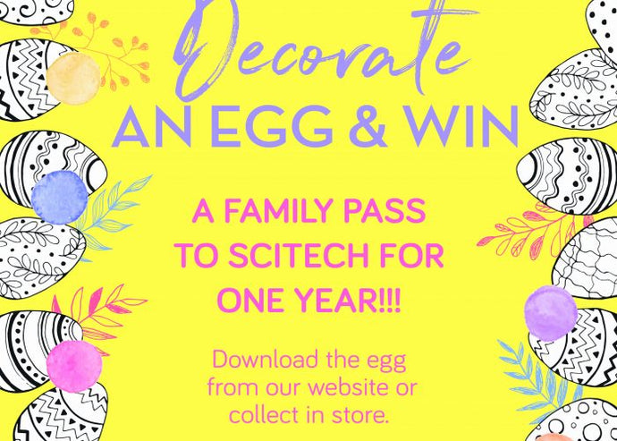 Padbury Pharmacy Easter Egg decoration competition
