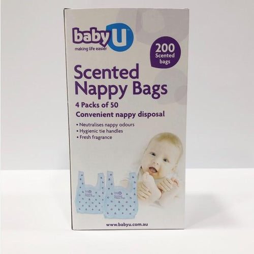 BabyU Scented Nappy Bags 200pk