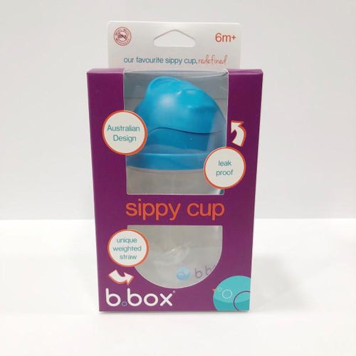 B. Box Sippy Cup 6m+ - Blueberry