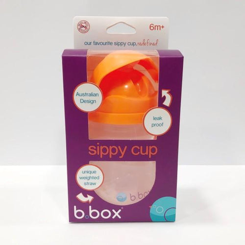 B. Box Sippy Cup 6m+ - Orange Zing