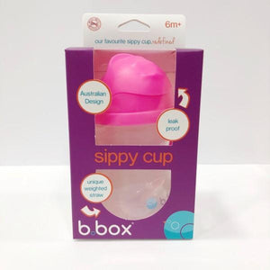 B. Box Sippy Cup 6m+ - Pink Pomegranate