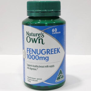 Nature's Own Fenugreek 1000mg Capsules