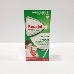 Panadol Children's 1 Month - 2 years Cherry and Vanilla- 20ml