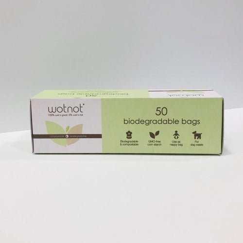 Wotnot Biodegradable Nappy Bags 50pk