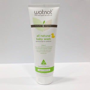 Wotnot Natural & Organic Baby Wash 250mL