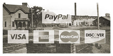 Payment Methods: Paypal, Visa, MasterCard, Discover, American Express