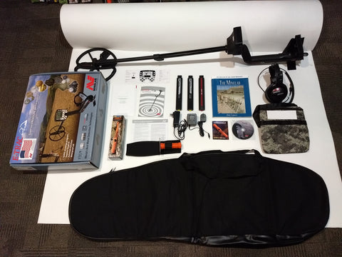 SOLD! Used Minelab E-Trac Package