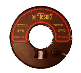 "Tesoro Concentric Coil (8"") Epsilon Series (5-pin connector)"