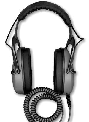 DetectorPro Gray Ghost Underwater Headphones