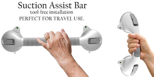 Suction Grab Bar for Travel
