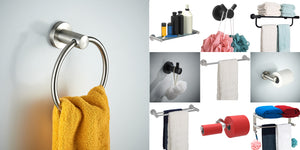 Find all the accessories for bathroom