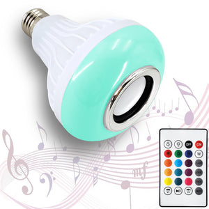 Bluetooth Speaker LED Bulb (6W)