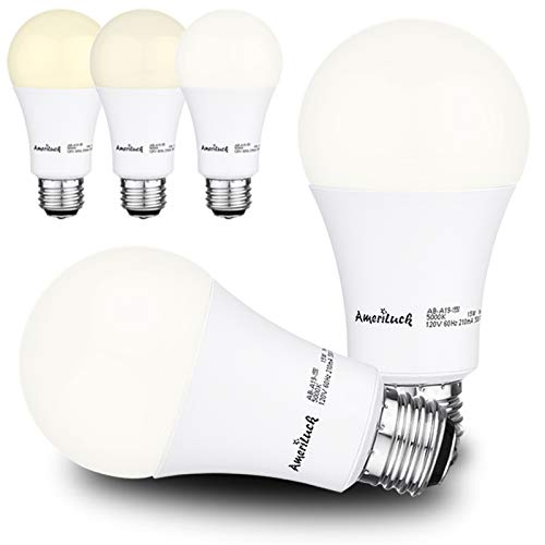 50/75/100W Equivalent A19 LED 3-Way Bulbs