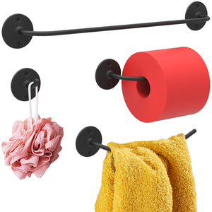 Minimalist Stainless Steel Bathroom Hardware Kit