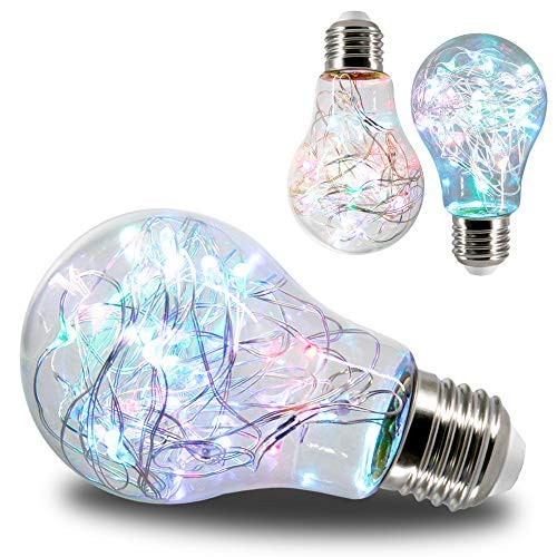 Decorative Fairy Starry LED Bulb (2 Pack)