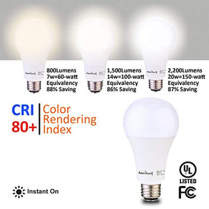 A21 3-Way Bulbs (7/14/20W)