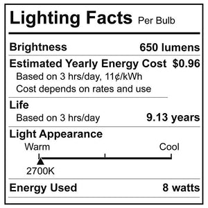 BR30 Flood Light Bulbs (6 Pack)