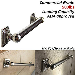 Designer Bath Grab Bar - Quad