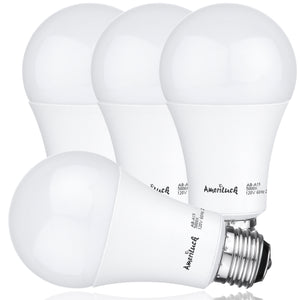 40/60/100W Equivalent A19 LED 3-Way Bulbs