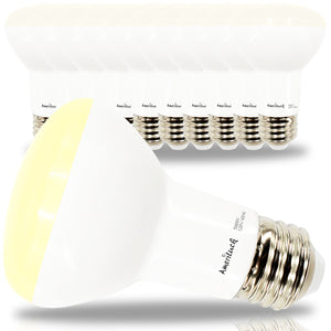 BR20 Flood Light Bulbs (10 Pack Dimmable)