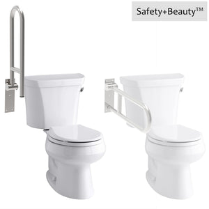 Flip-up Grab Bar for Toilet