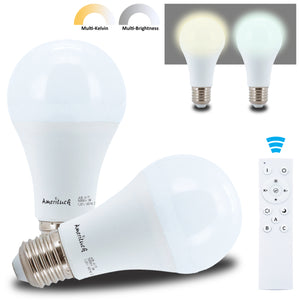 Remote Control LED Light Bulbs Kit