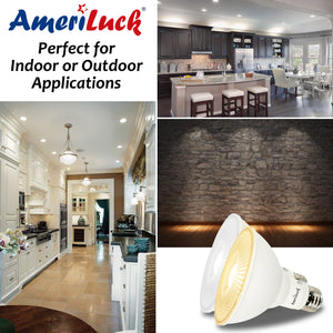 PAR30 LED Light Bulbs Dimmable (Short Neck)