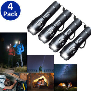Ameriluck LED Flash Light 4 Pack