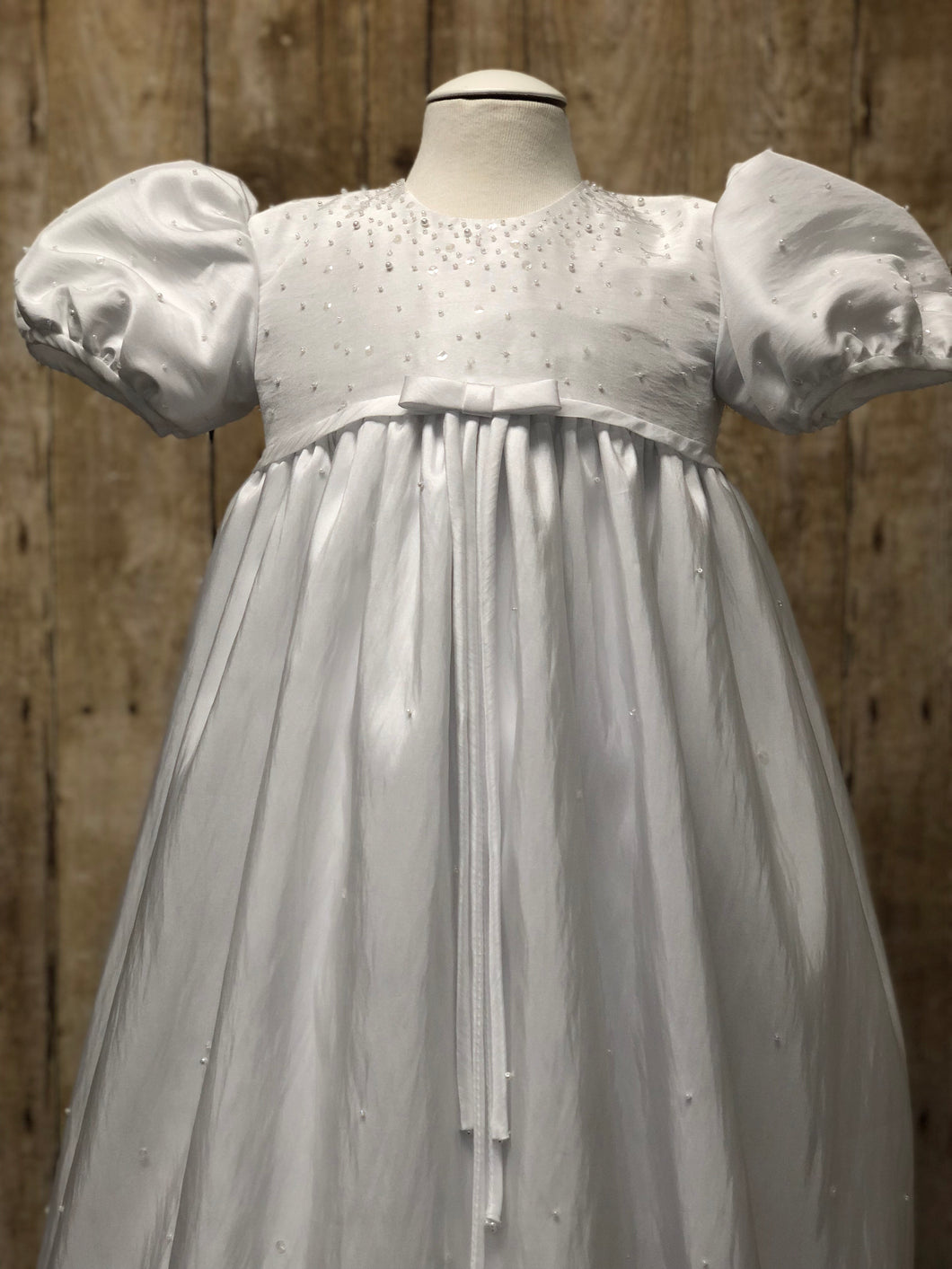 Silk Christening/Baptismal gown