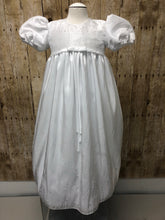 Load image into Gallery viewer, Silk Christening/Baptismal gown