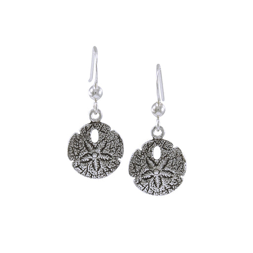 Earrings: Sand Dollar