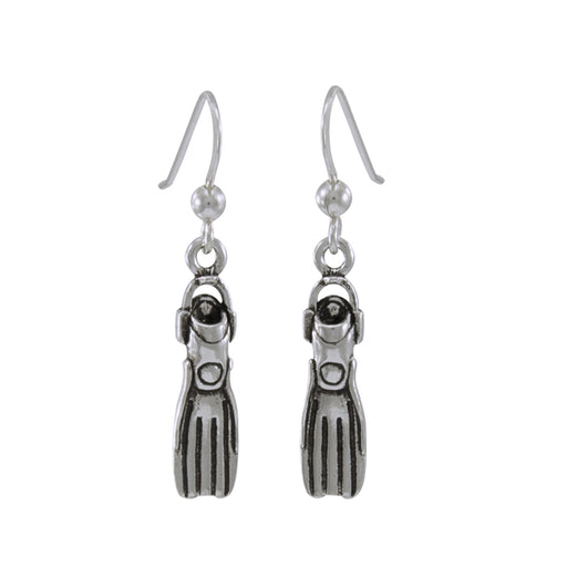 Earrings: Dive Fin