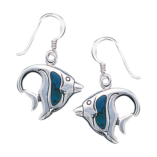 Earrings: Angelfish Sterling Silver Hook