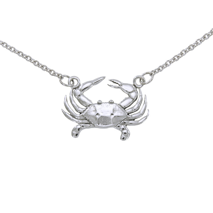 Necklace: Blue Crab Set