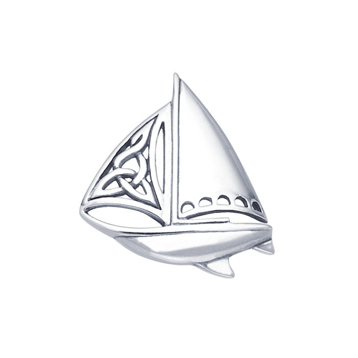 Pendant: Celtic Sailboat