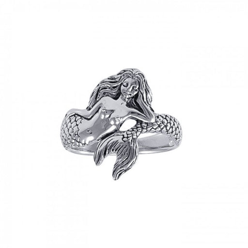 Ring: White Mermaid
