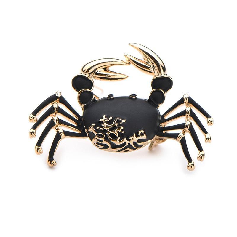 Brooch: Crab