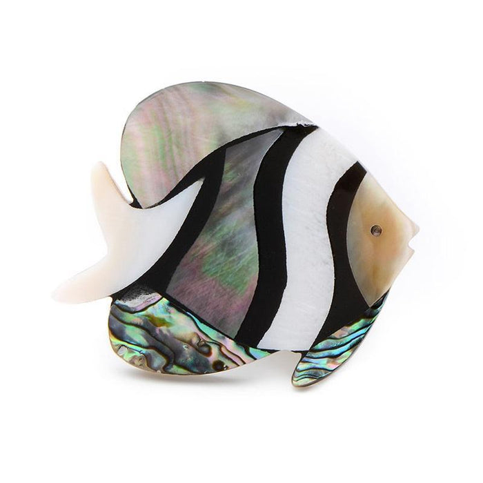 Brooch: Shell Fish
