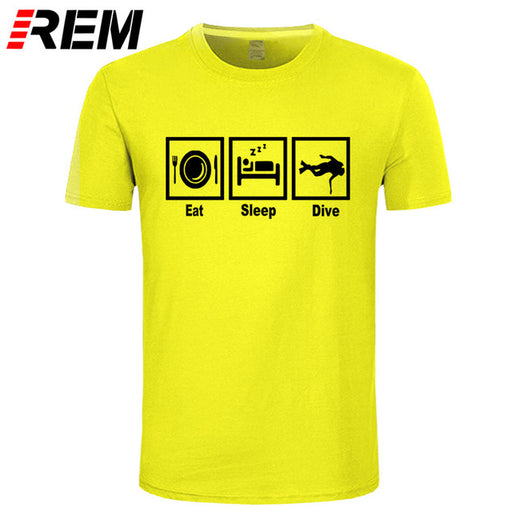 T-Shirt: REM Eat Sleep Dive