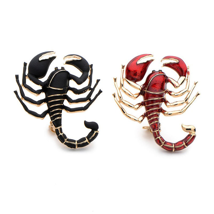 Brooch: Scorpion